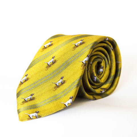 Neck Tie - Jeb (Yellow/Green)