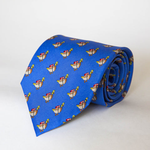 Neck Ties - Diver Duck (Blue)