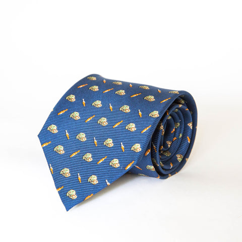 Neck Ties - Duck Hat & Calls (Navy)