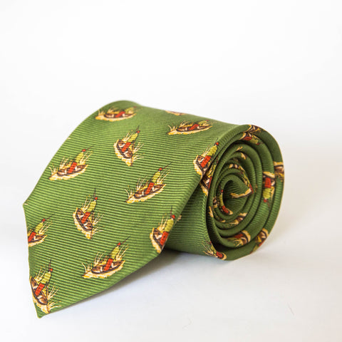 Neck Ties - Duck Blind (Green)