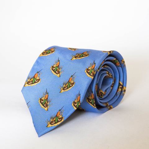 Neck Ties - Duck Blind (Blue)