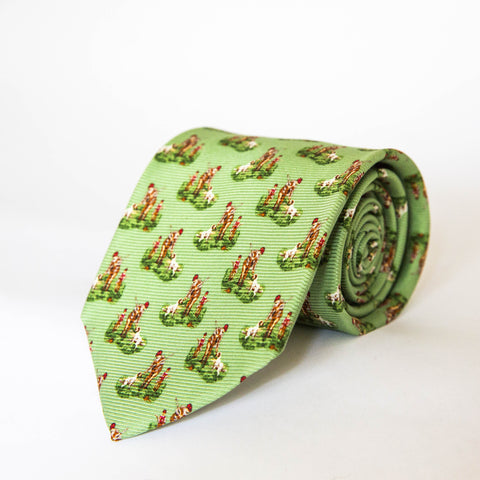 Neck Ties - Hunter & Son (Green)
