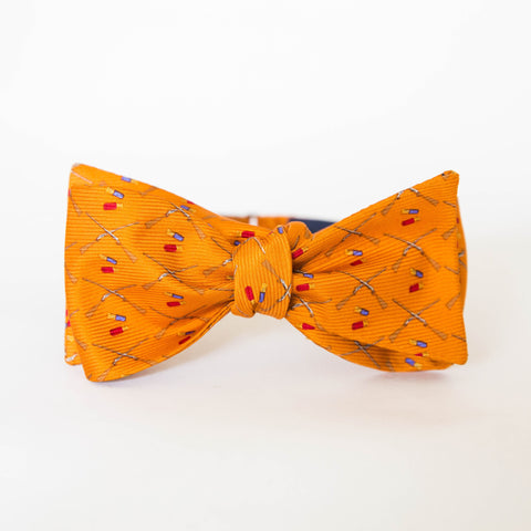 Bow Tie - Shotgun & Shell (Orange)