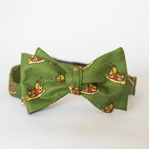 Bow Tie - Duck Blind (Green)