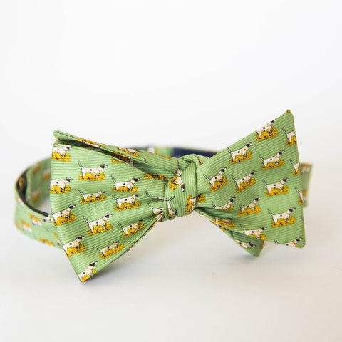 Bow Tie - Pointer (Green)