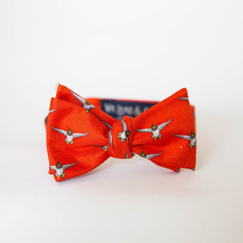 Bow Tie - Mallard (Orange)