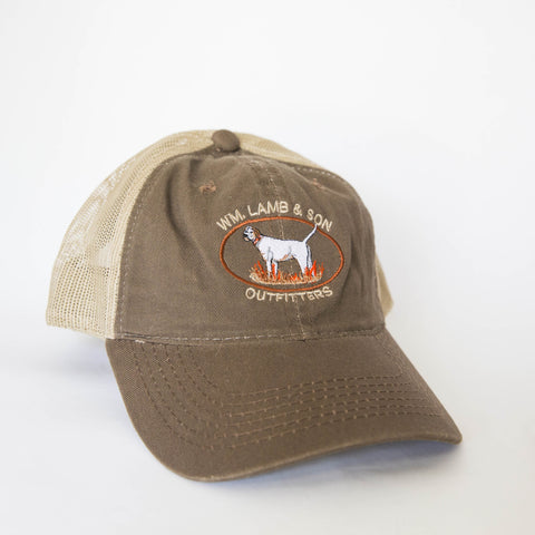Ball Cap - Jeb Brown/Tan Mesh