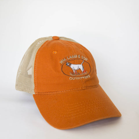 Ball Cap - Jeb Burnt Orange/Tan Mesh