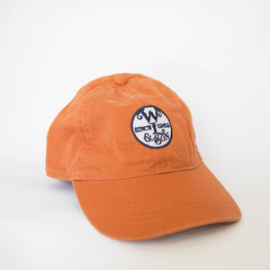 Ball Cap - The Seal on Burnt Orange Twill