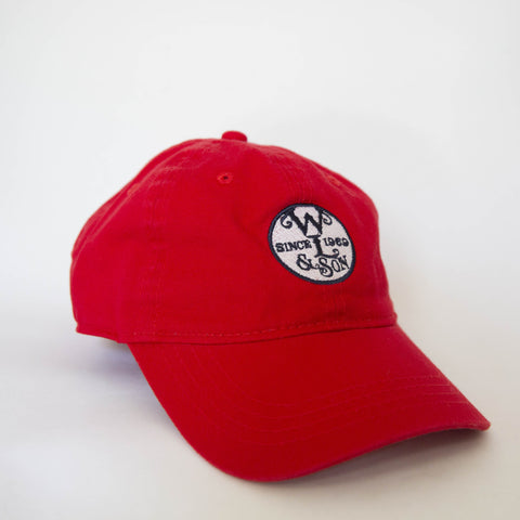 Ball Cap - The Seal on Red Twill