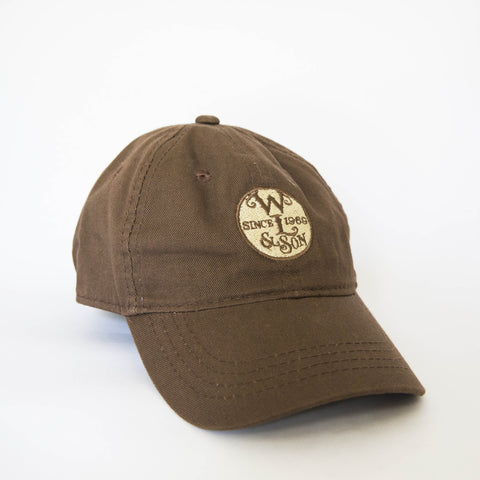 Ball Cap - Brown Twill w/ The Seal