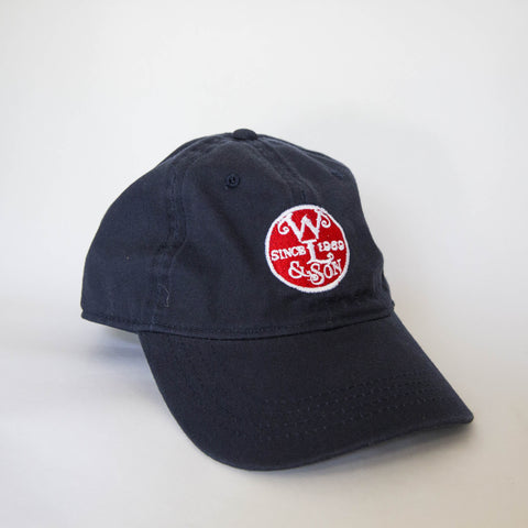 Ball Cap - Navy Twill w/ The Seal