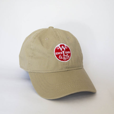 Ball Cap - Khaki Twill w/ The Seal