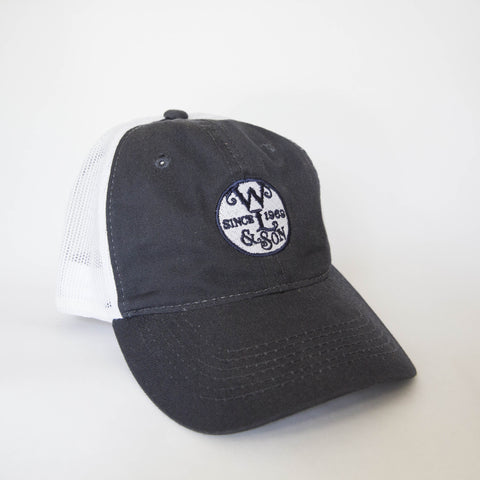 Ball Cap - The Seal on Navy/ White Mesh