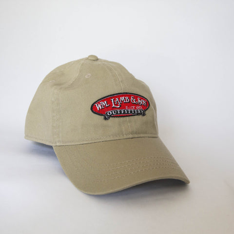 Ball Cap - Logo on Khaki Twill