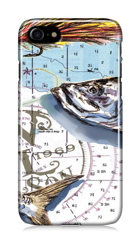 iPhone Case - Tarpon on the Map