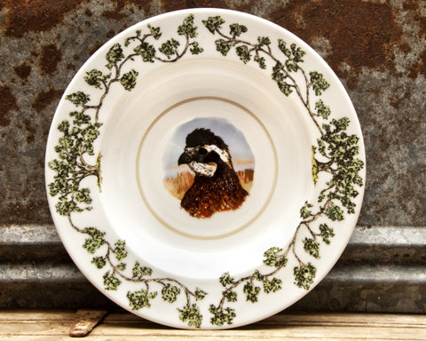 The Plantation China - Bowl Quail Head