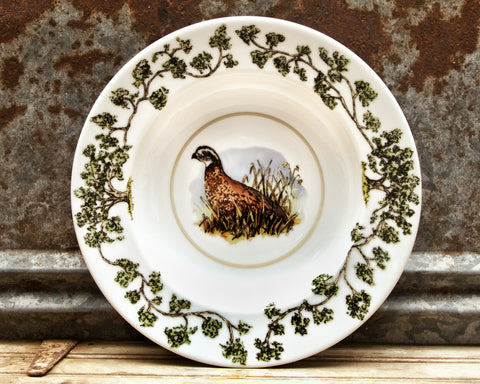 The Plantation China - Bowl Single Quail