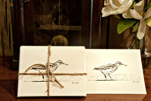 Note Cards - Sandpiper