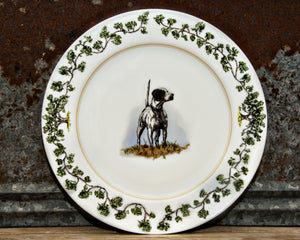 The Plantation China - Charger Plate English Pointer