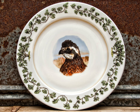The Plantation China - Charger Quail Head