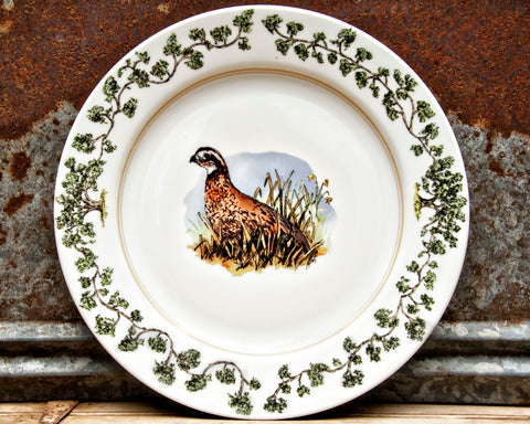 The Plantation China - Charger Single Quail