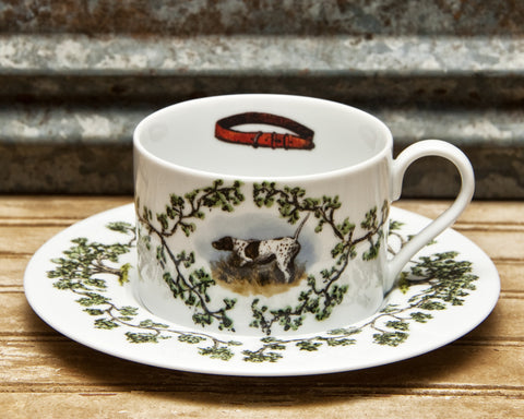 The Plantation China - Cup/Saucer On Point