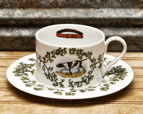 The Plantation China - Cup/Saucer Birdie