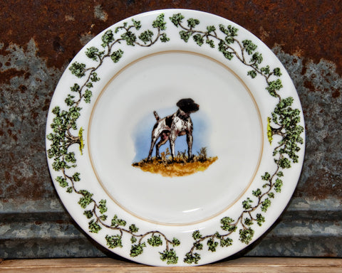 The Plantation China - Charger Plate German Shorthair