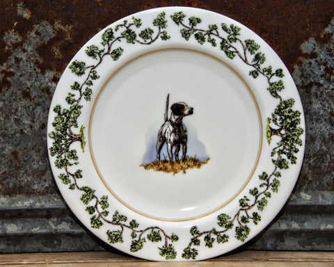 The Plantation China - Dinner Plate English Pointer