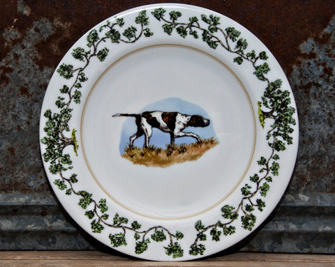 The Plantation China - Charger Plate Birdie
