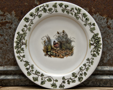 The Plantation China - Dinner Plate Quail in the Bush