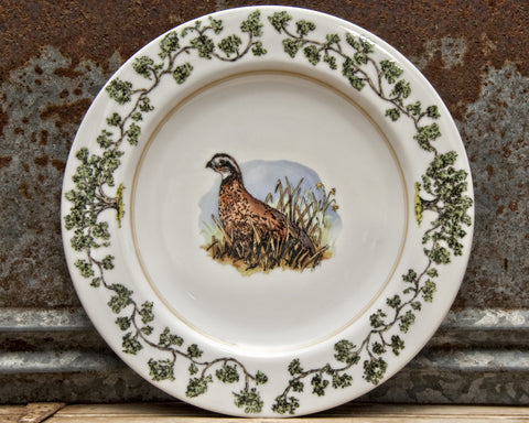 The Plantation China - Dinner Plate Single Quail