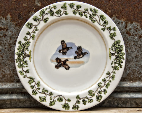The Plantation China - Dinner Plate Flushing Quail
