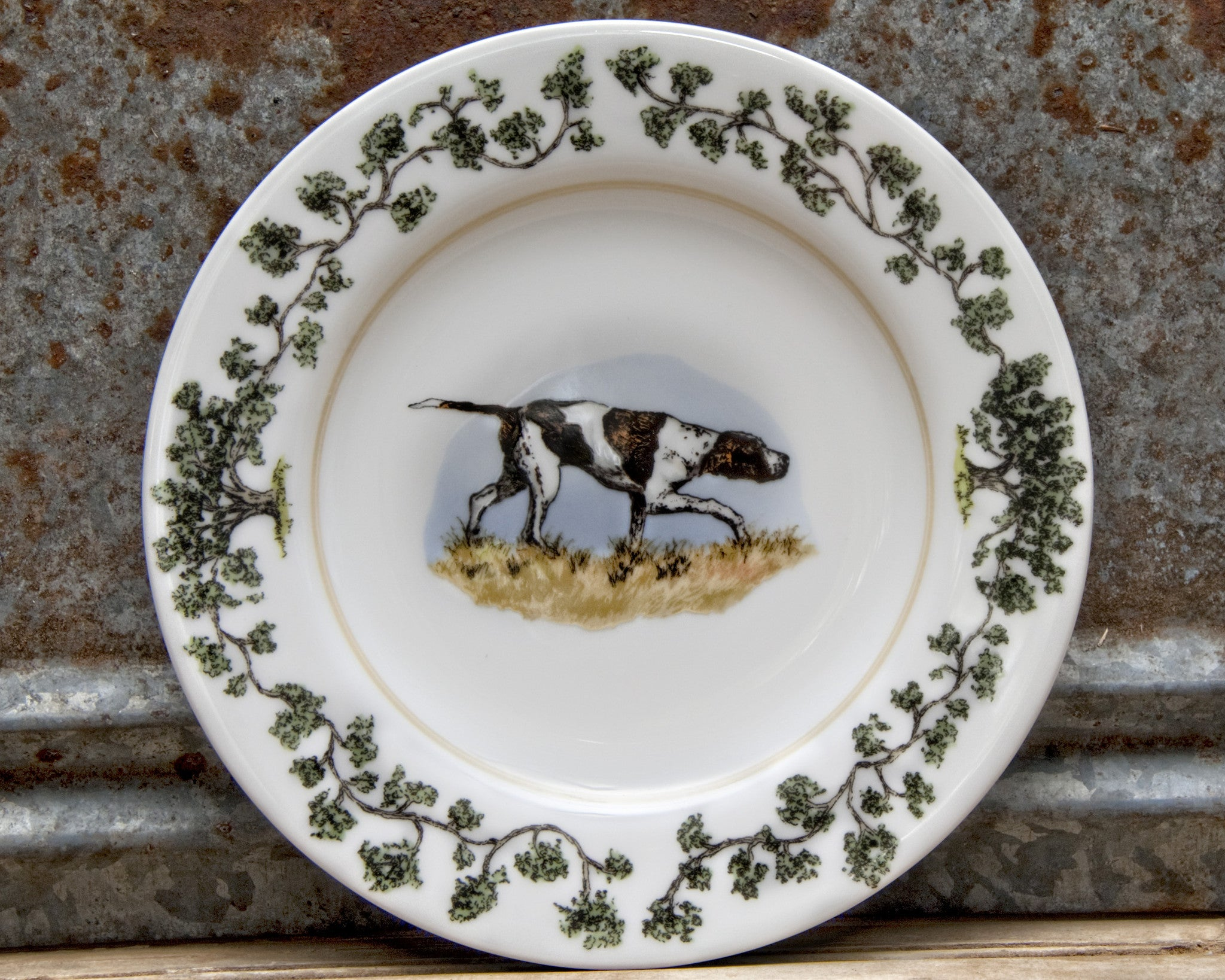 The Plantation China - Salad Plate Birdie