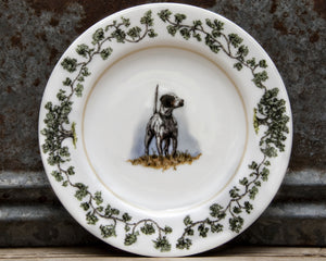 The Plantation China - Salad Plate English Pointer