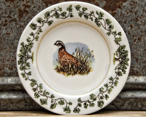 The Plantation China - Salad Plate Single Quail