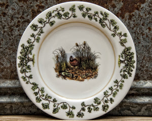 The Plantation China - Salad Plate Quail in Bush