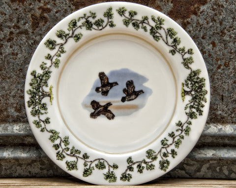 The Plantation China - Salad Plate Flushing Quail