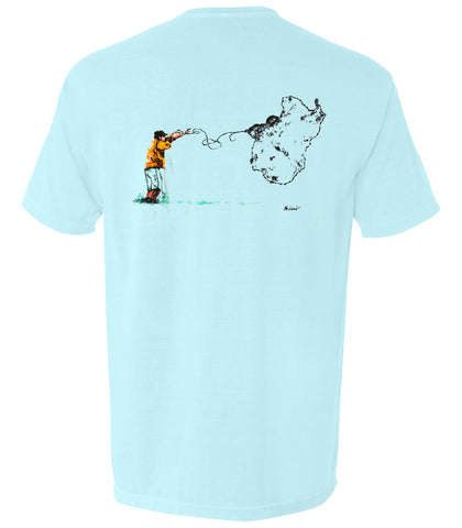 The Art of the Cast Tee - The Coastal Collection