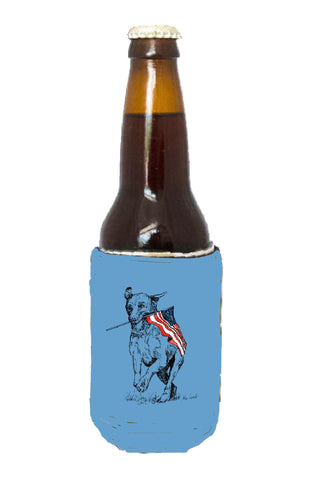 Coozie - Patriotic Dog