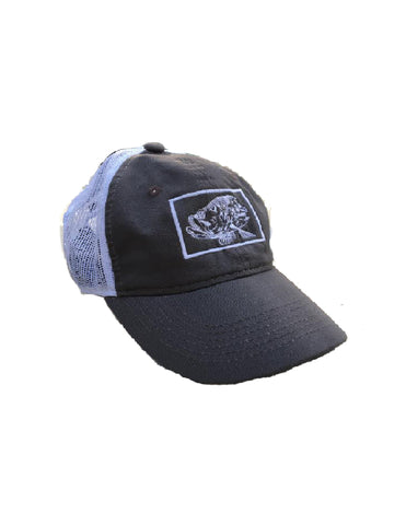 Ball Cap - Silver King charcoal grey/ white mesh