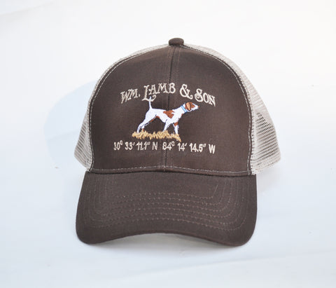 Ball Cap  -  Structured Jeb Coordinate on Brown/Tan Mesh