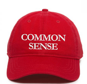 Common Sense Class of Ball Cap