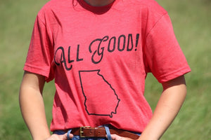 All Good Georgia Tee