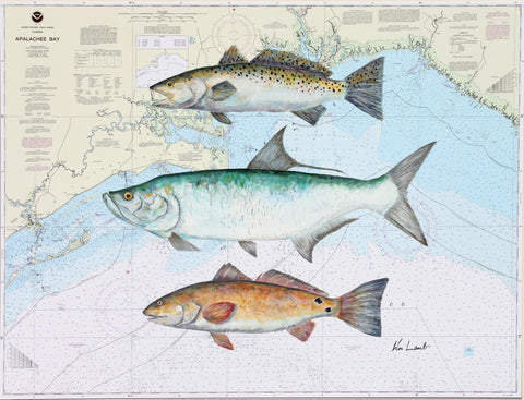 Giclee - Inshore Grand Slam