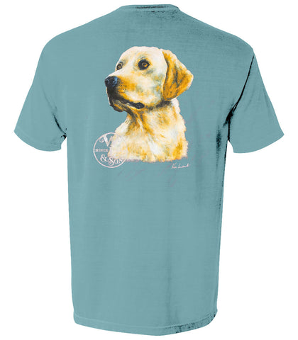 The Jackson Tee (Ice Blue) - A Dog's Life Collection