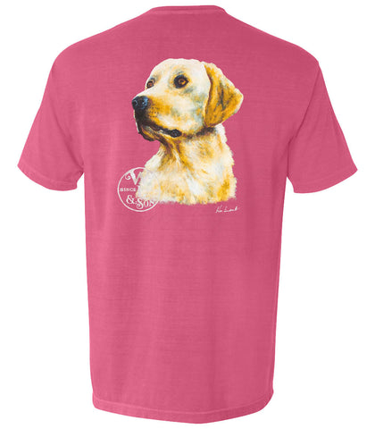 The Jackson Tee (Brick)  - A Dog's Life Collection