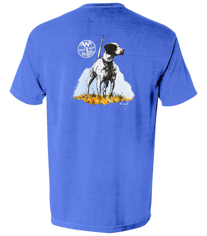 The English Pointer Tee (Mystic Blue)