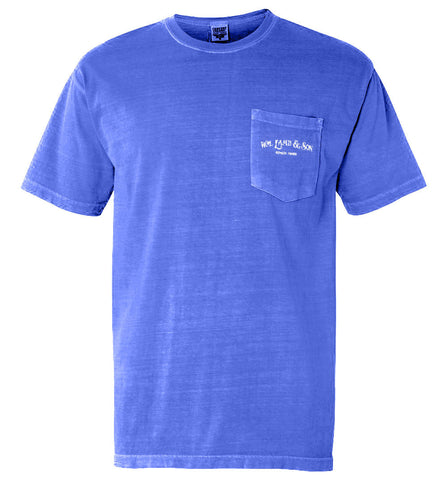 The English Pointer Tee (Blue)  - A Dog's Life Collection
